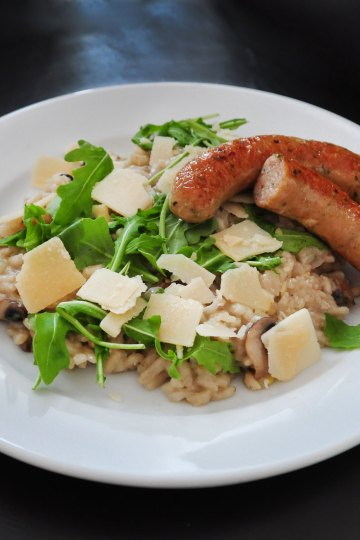 Risotto Tante Door worst