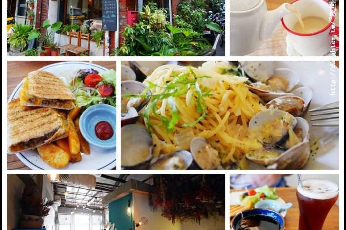 桃園區美食【丹宅 DAN's home cuisine】老屋新生/紅磚牆舊閣樓銳變後的文青風
