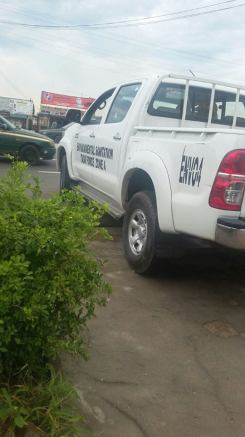 Tax force (environment) zooms out of the premises of the eatery in Abeokuta