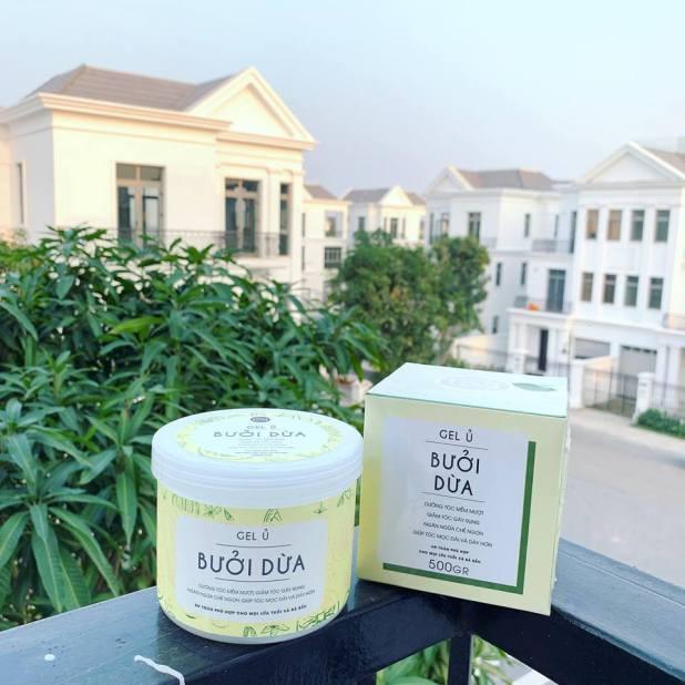 Gel ủ bưởi dừa Nga Hoàng