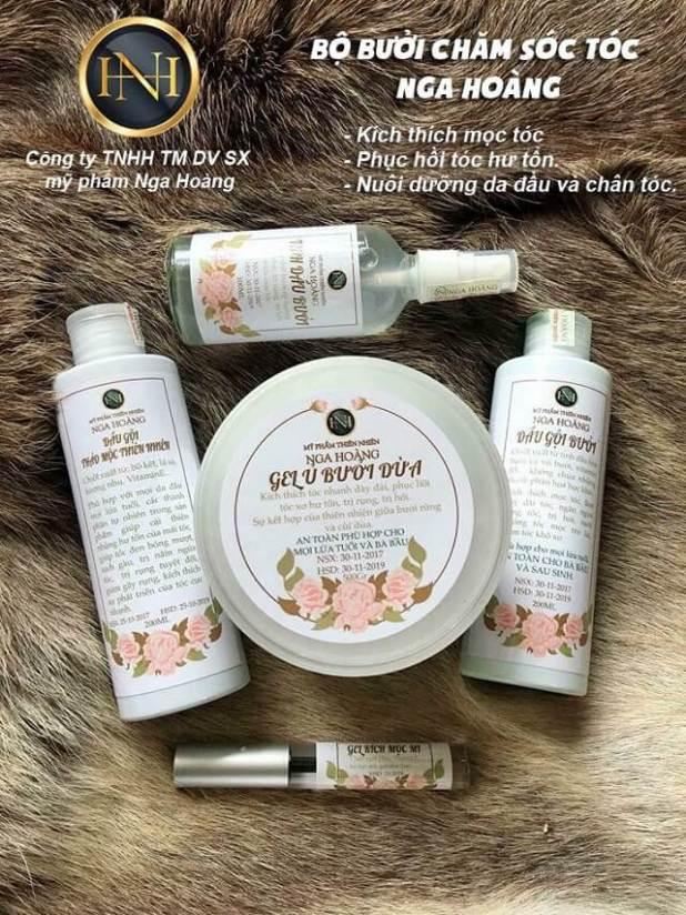 Bộ sản phẩm chăm sóc tóc Nga Hoàng