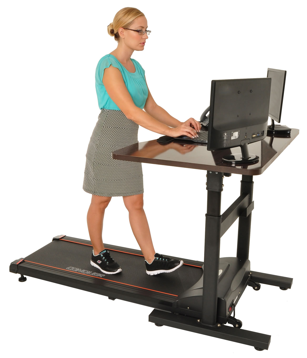 Conquer Electric Treadmill Standing  Walking Desk