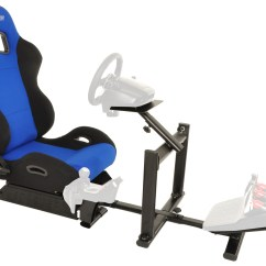 Driving Simulator Chair Thomas Table And Chairs Uk Conquer Racing Cockpit Gaming Seat With