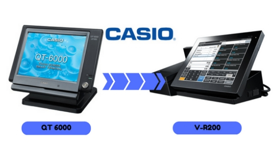 Comment remplacer votre caisse enregistreuse CASIO QT-6X00?