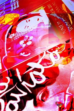 Photo By: D. Austin Title: P-Posterz Face