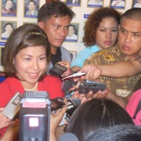 "LYKA ""PINK LADY"" LOPEZ BACK AS INDAY SARA ADMINISTRATOR"