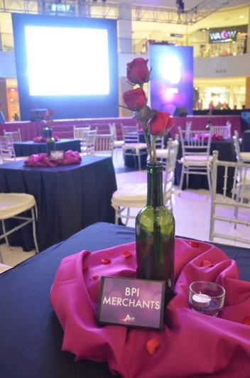 mall decor corporate event coordinator in davao - bpi amore in abreeza