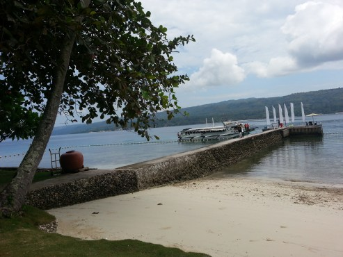 Imagine your wedding or your corporate team building here, at Pacific Little Secret, Samal. Just breathtaking!