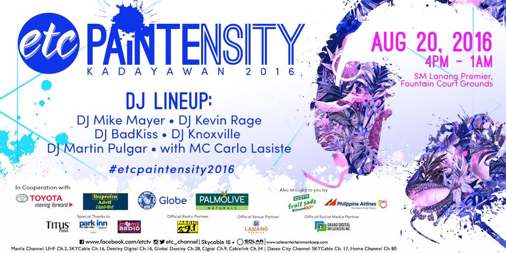 Paintensity poster
