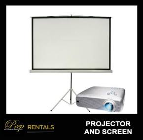 RENTALS - LCD PROJECTOR AND SCREEN