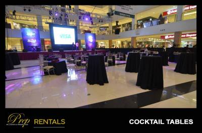 RENTALS - ROUND COCKTAIL TABLES