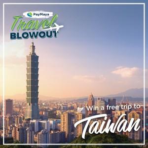 PayMaya Travel Blowout Taiwan