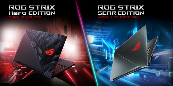 ROG Strix GL503 Hero Scar