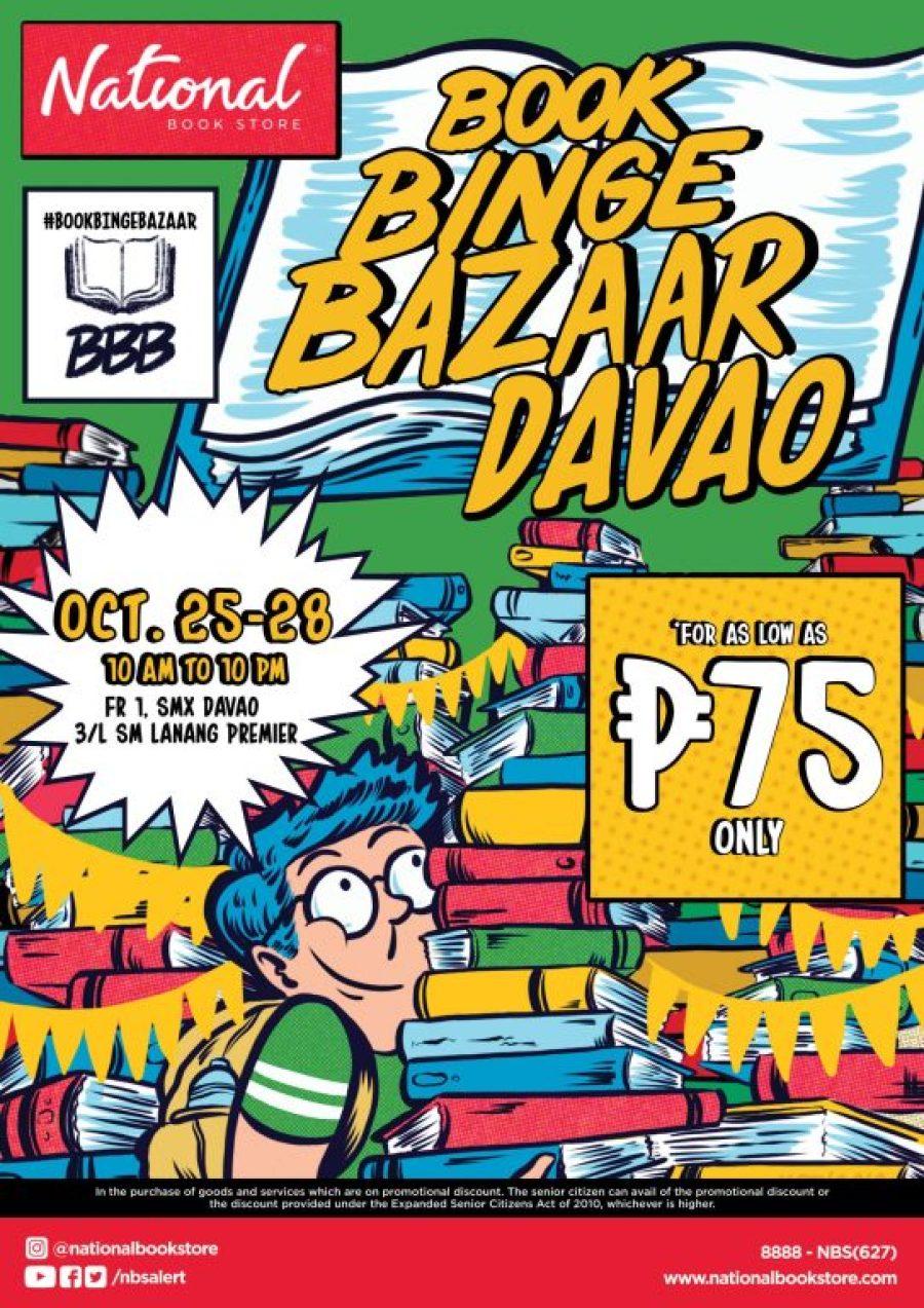National Book Store Book Binge Bazaar Davao