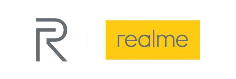 Realme logo and watermark