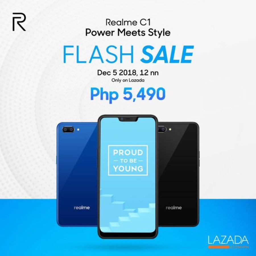 Relme C1 Flash Sale on Lazada