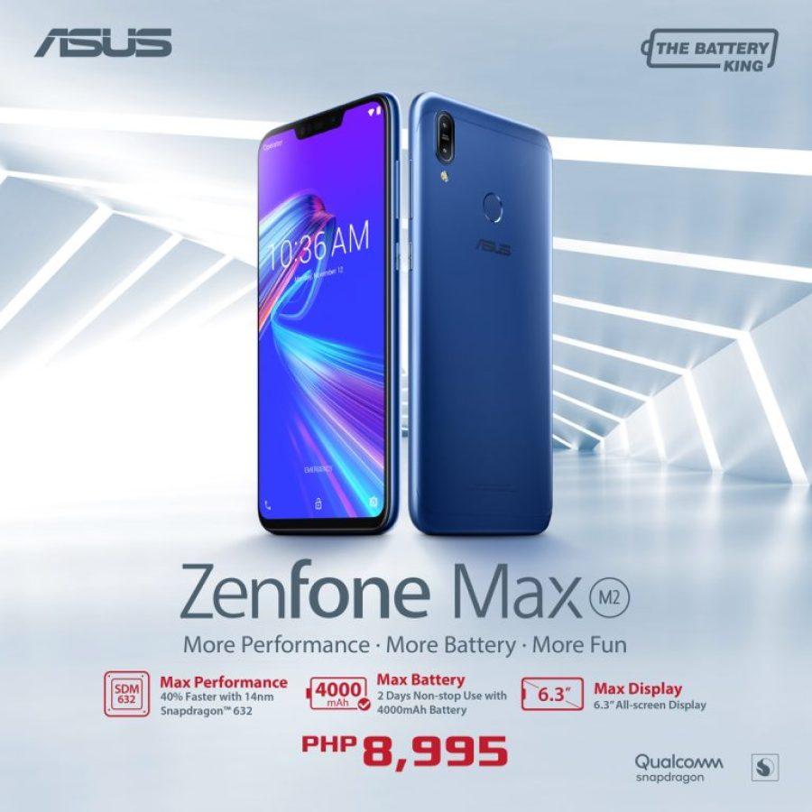 ZenFone Max M2 Price