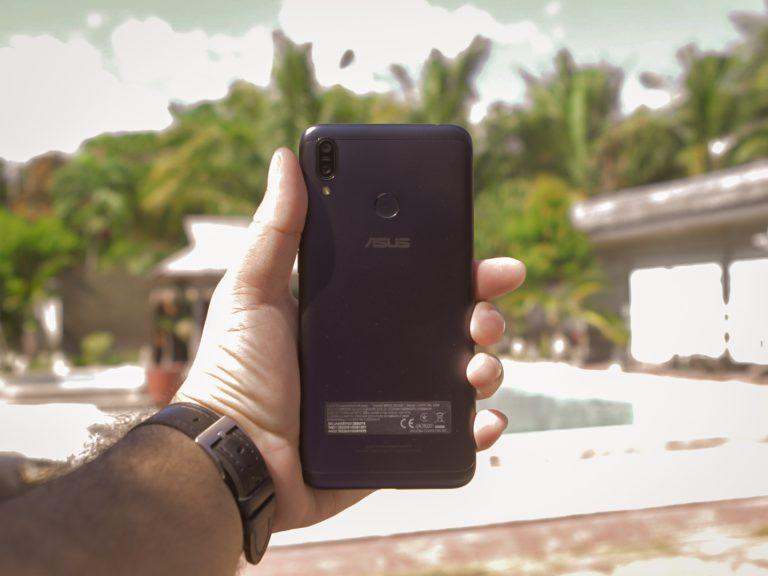 Zenfone Max M2 back