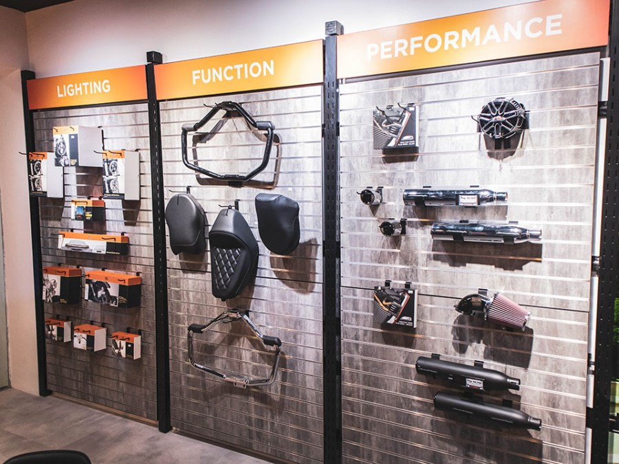 Parts and Accessories - Harley-Davidson of Davao