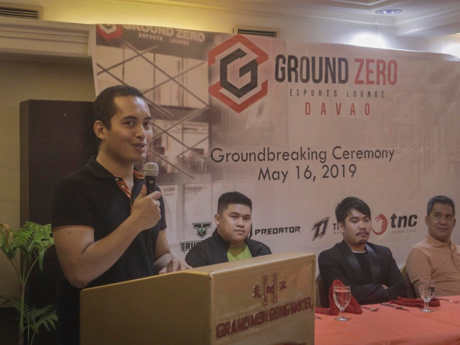 TNC Ground Zero ESports Lounge Davao Ground Breaking Ceremony