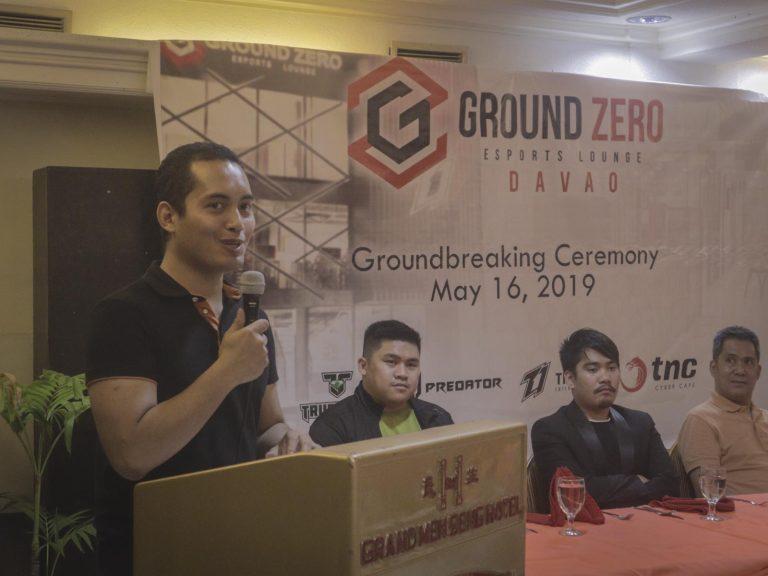 TNC Ground Zero ESports Lounge Davao Ground Breaking Ceremony