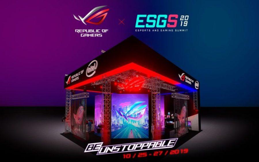 ROG ESGS 2019 Booth