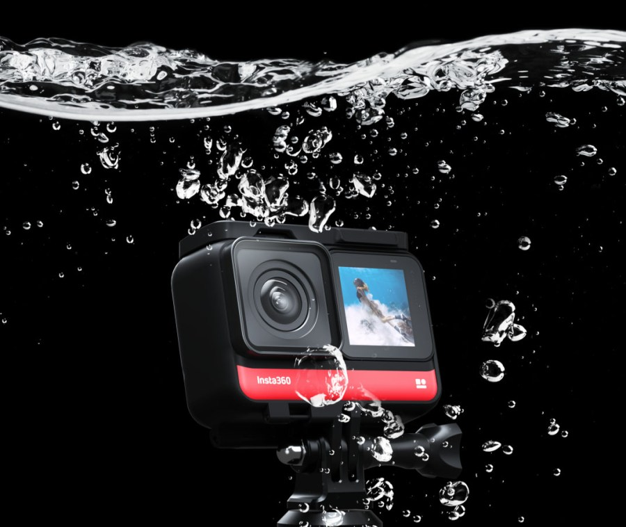 Insta360 ONE R waterproof