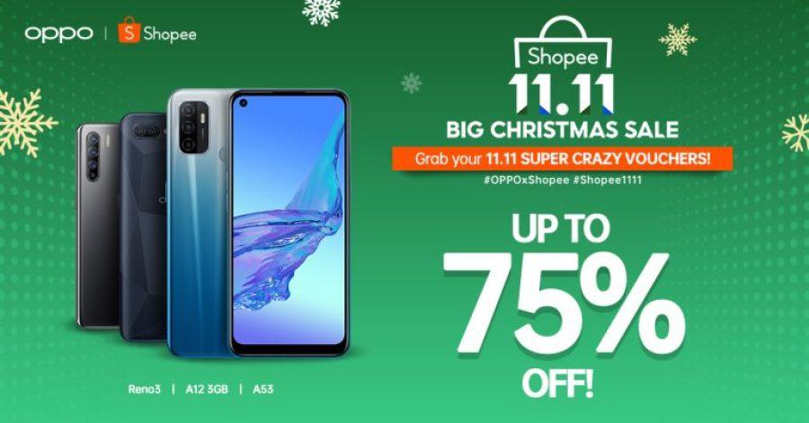OPPO x Shopee 11.11 Sale
