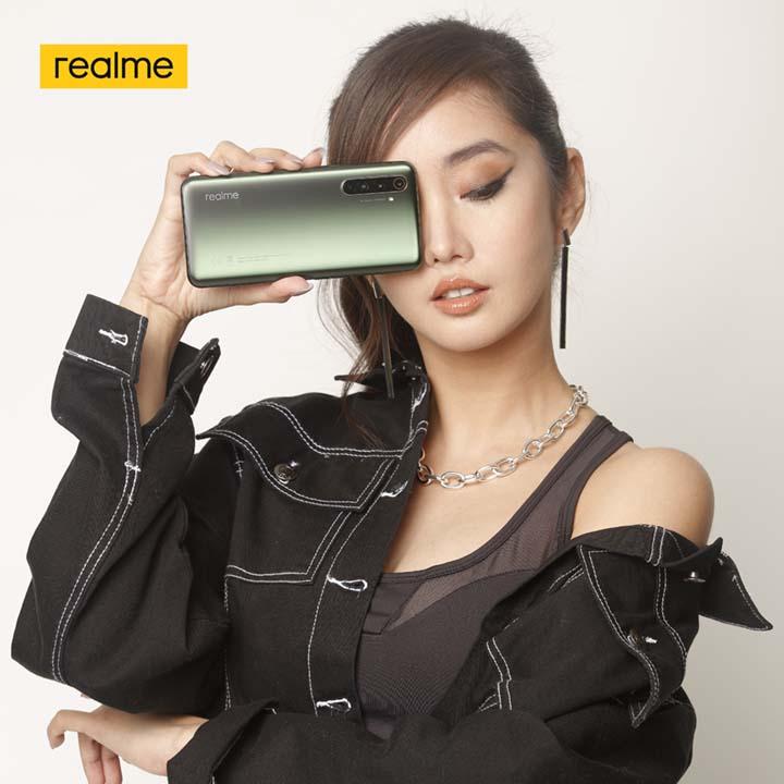 Alodia Gosiengfiao for realme X50 Pro 5G