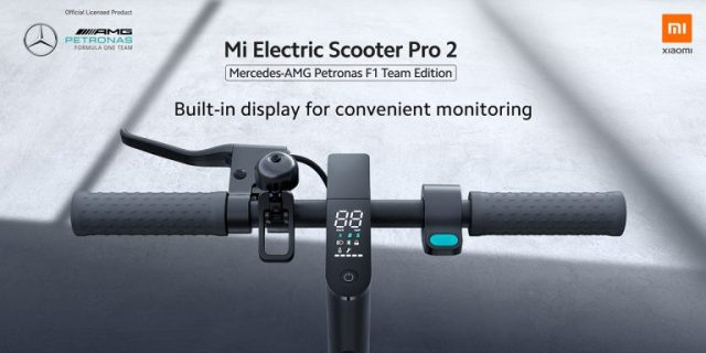 built-in display for convenient monitoring