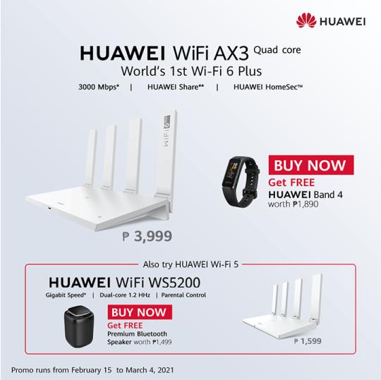 Huawei Wifi AX3 WS5200 pre-order
