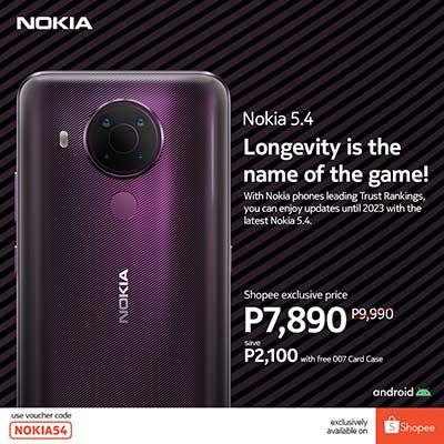 Nokia 5.4 Shopee Exclusive Price