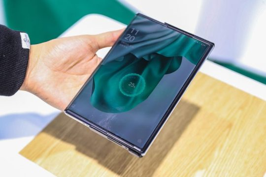 OPPO X 2021 Wireless Air Charging