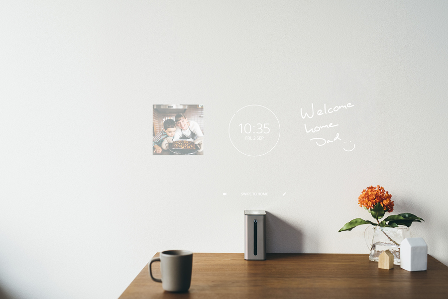 Xperia Touch wall