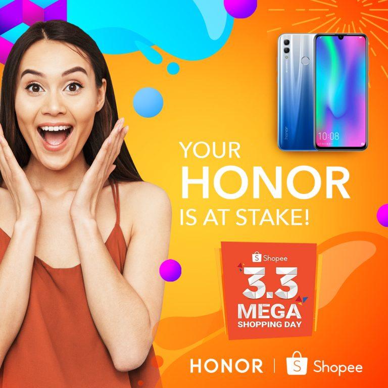 Honor Phones-Shopee 3.3 Sale