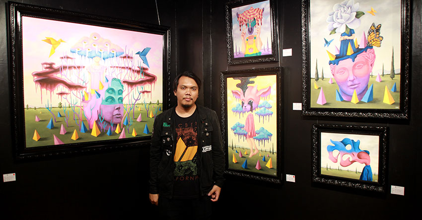 Red Genotiva: Pop surrealism as mind work   Davao Today