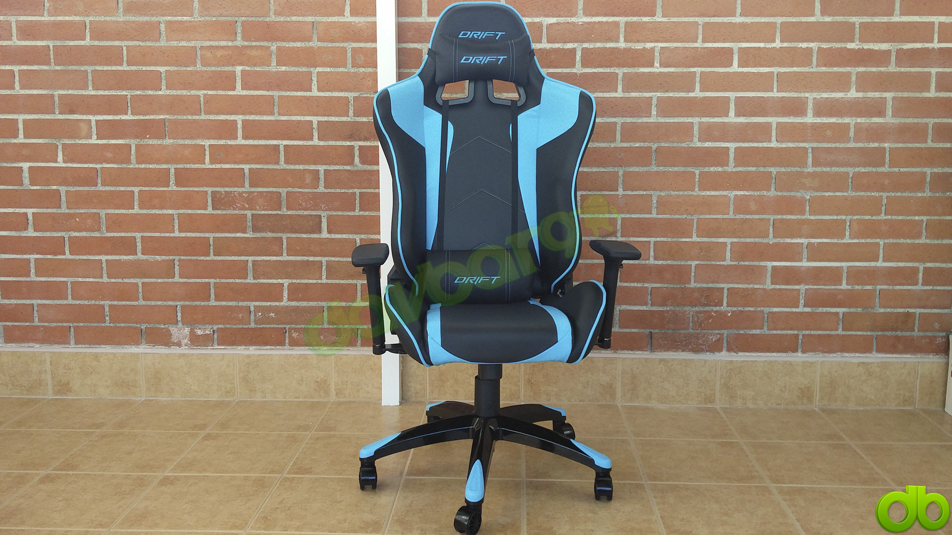 Silla Gaming Drift DR300 Azul Unboxing Review y Montaje