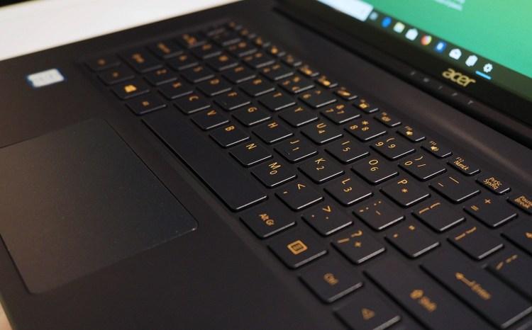 Acer Swift 5 15-inch Keyboard