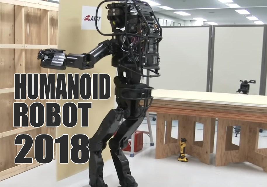 Humanoid Robot Replace Heavy Labor Work Soon?