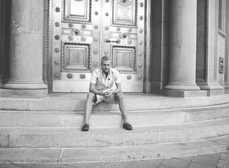 Portrait at the Golden Doors