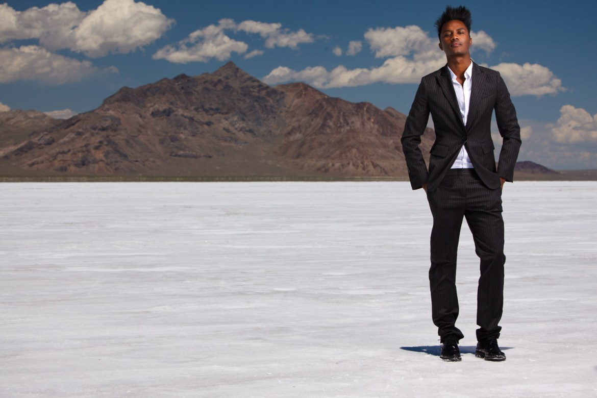 The Salt Flats were dried by this time, perfect for portraits.