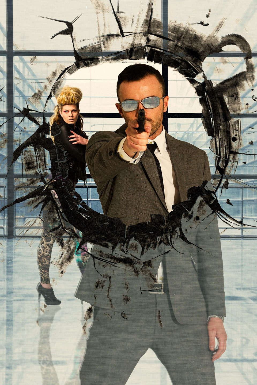 Fake Movie Poster for a Spy Themed Movie