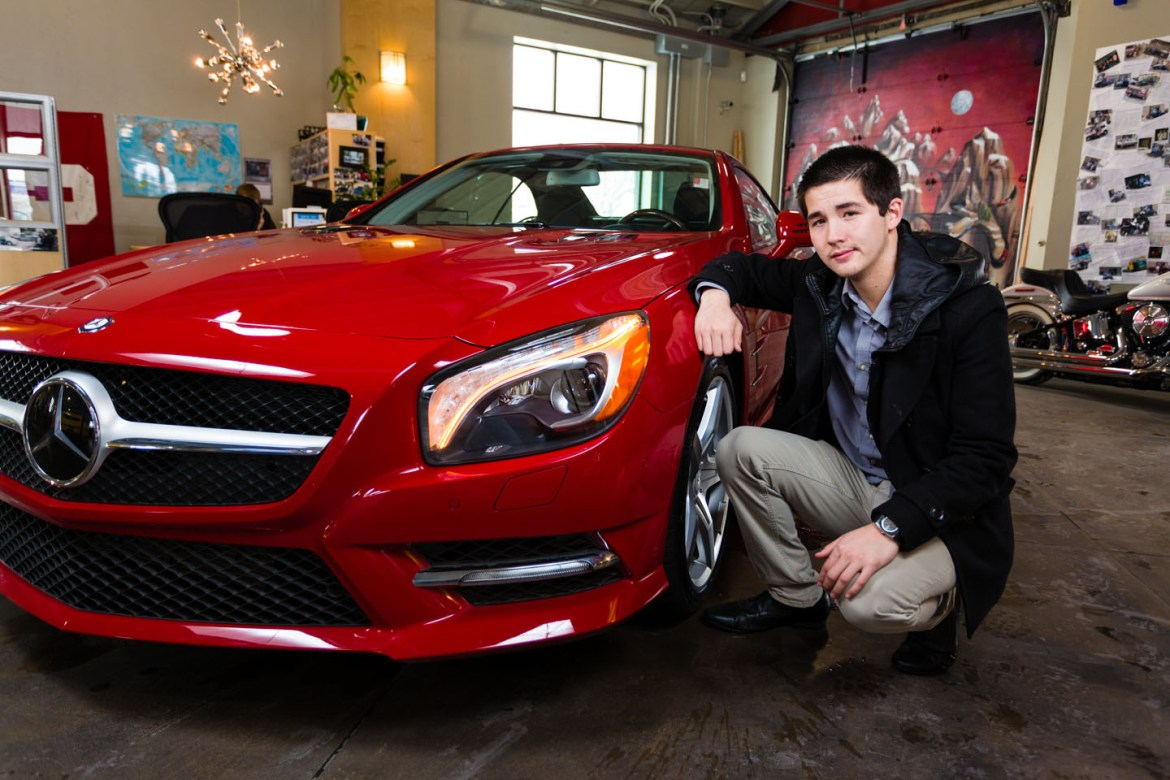 Who doesn't want a Mercedes?