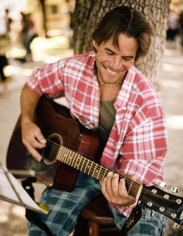 Guitarist at Salt Lake Farmers Market