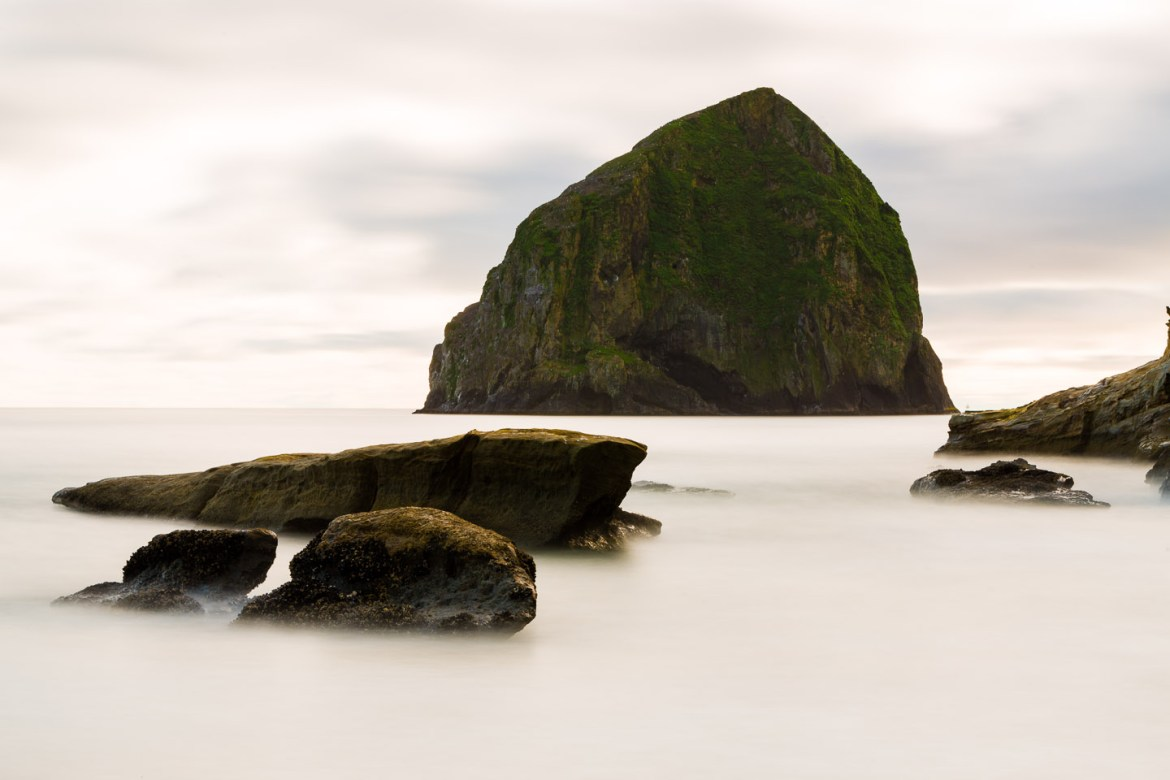 Haystack on Oregon Coast by Pacific City