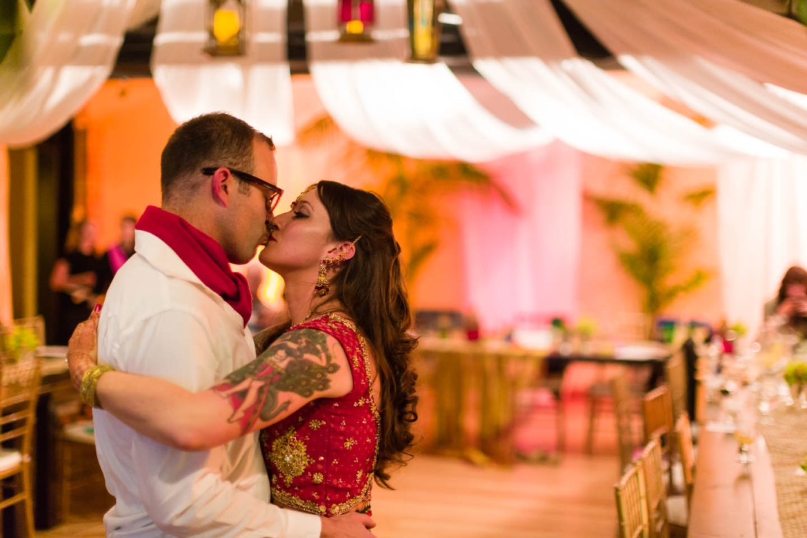 The first dance, after the party was over