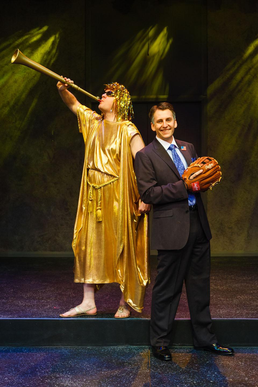 Mitt Romney & the Angel Moroni