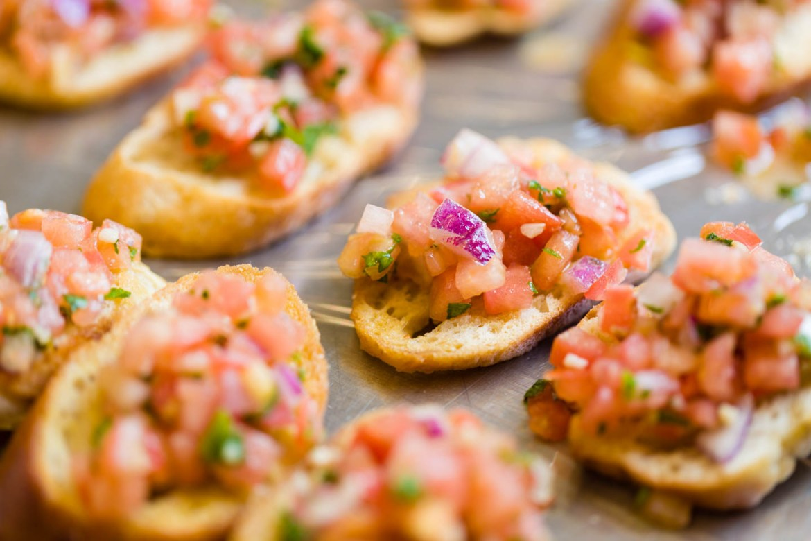 Ceviche on Toast