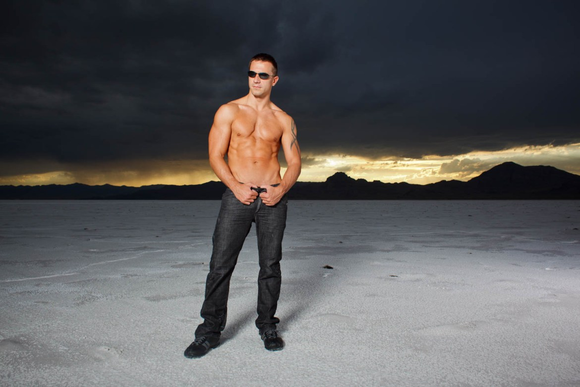 Jacob, jeans, muscle, sunglasses, and studio lights... the perfect combination