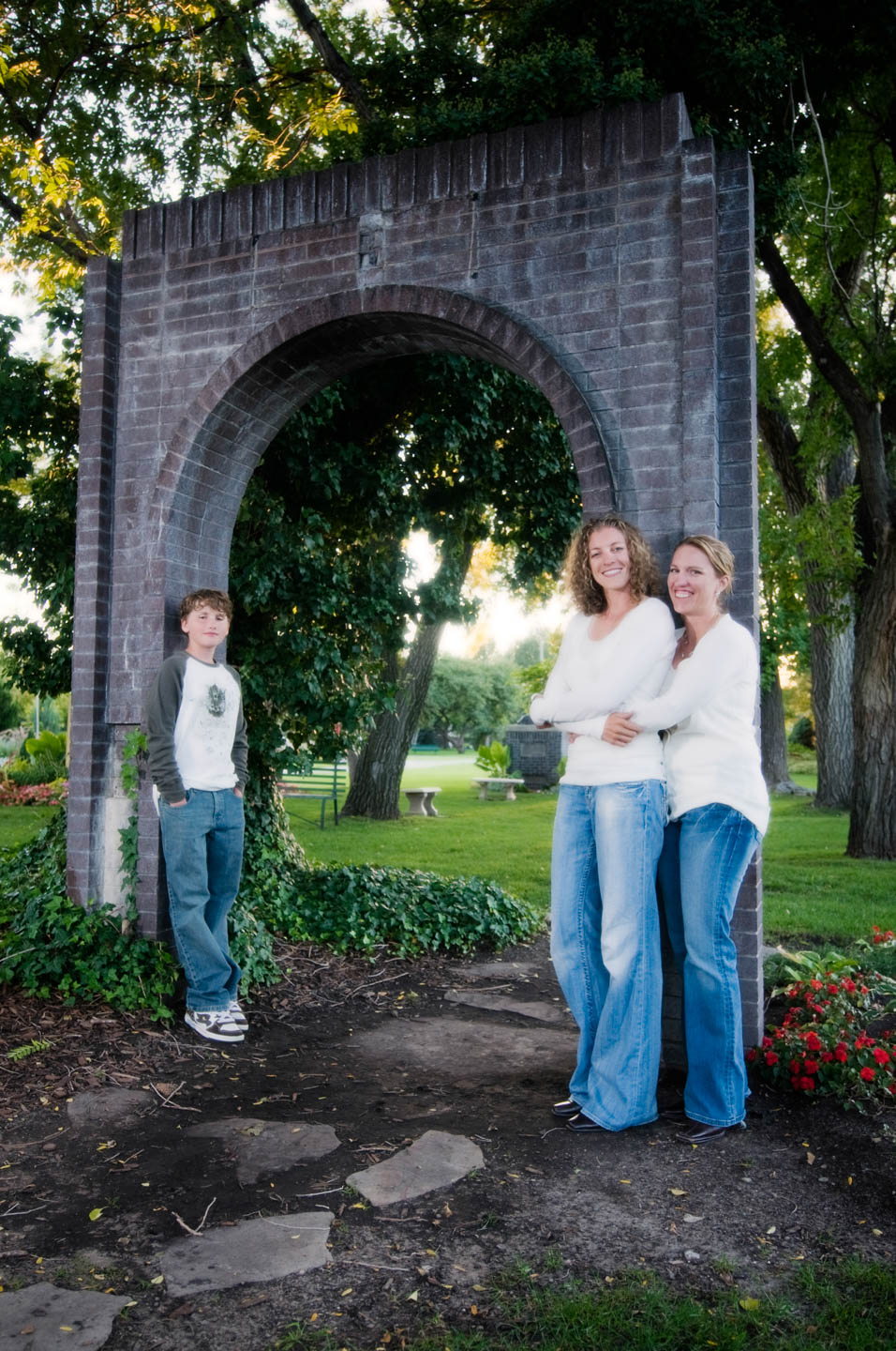 International Peace Garden is awesome for family photography